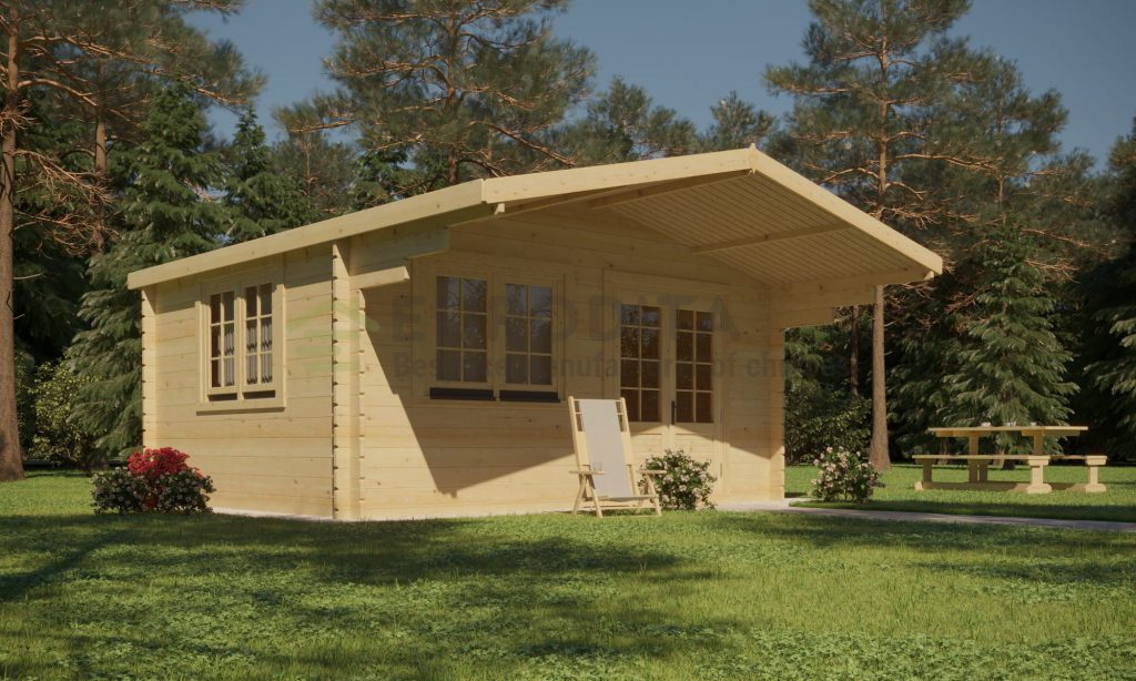 Standard Log Cabin 4x3m – Gertrude 3