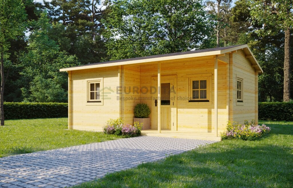 Standard Log Cabin Euro 6.16×4.7m – Evelyn