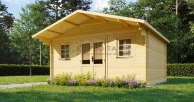 Log Cabin Euro 5×3.8m – Clementine