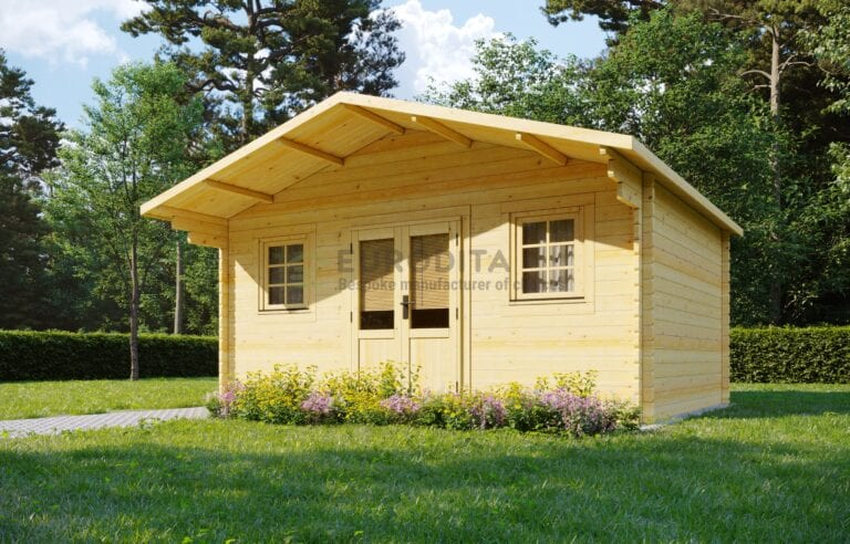 Log Cabin Euro 5×3.8m - Clementine