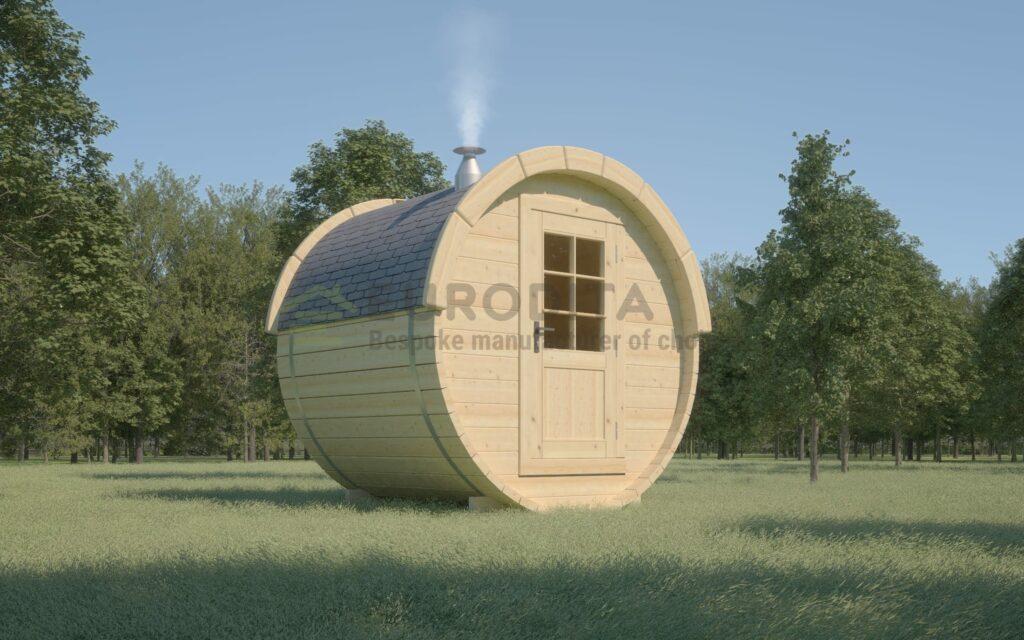 Timber Sauna Barrel 1.7m – Whirlpool 7