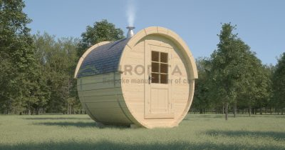 Timber Sauna Barrel 1.7m