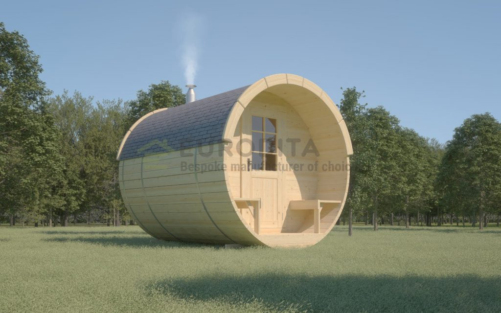 Timber Sauna Barrel 3.0m – Whirlpool 5