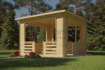 Wooden Pavilion 3.5×3.5m