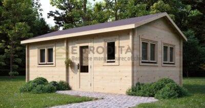Cabaña de madera laminada a medida Dreamer