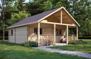 5 meravigliose opzioni per vivere in una capanna di legno
