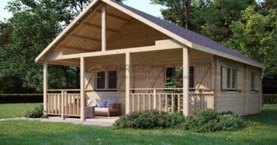 Descubrimiento de la cabaña de madera laminada a medida