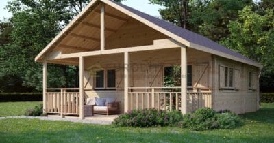 Bespoke Glulam Log Cabin Discovery