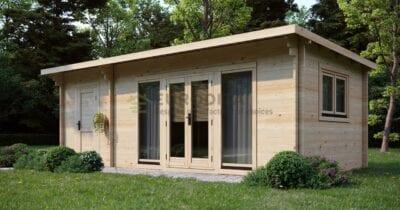 Standard Log Cabin Daisy