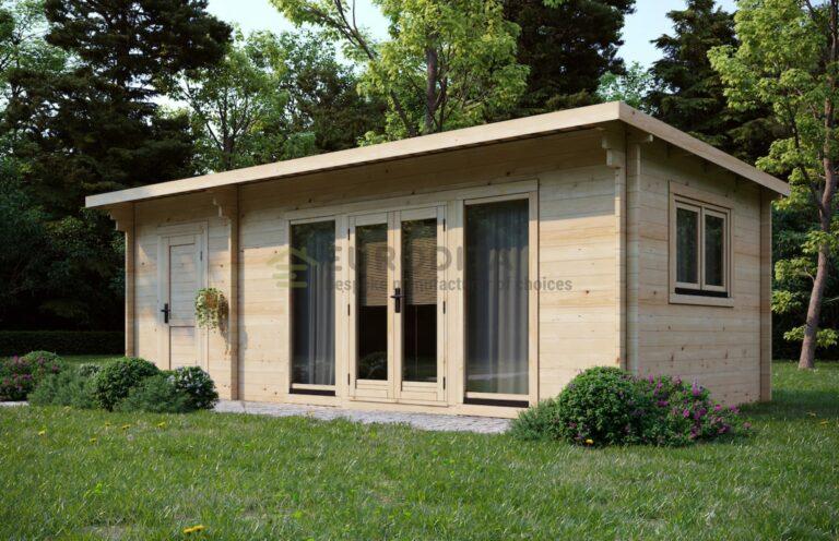 Bespoke Log Cabin Daisy