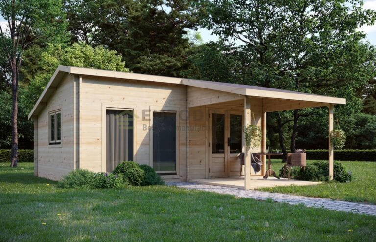 Cabaña de madera a medida Tranquil