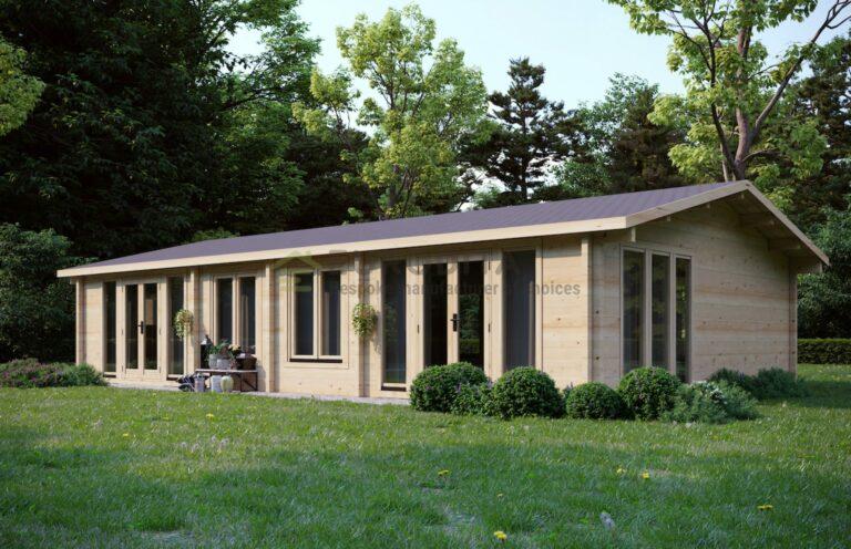 Cabaña de madera laminada a medida Forester