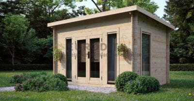 Log Cabin Aylesbury 3.8×2.6m, 28mm
