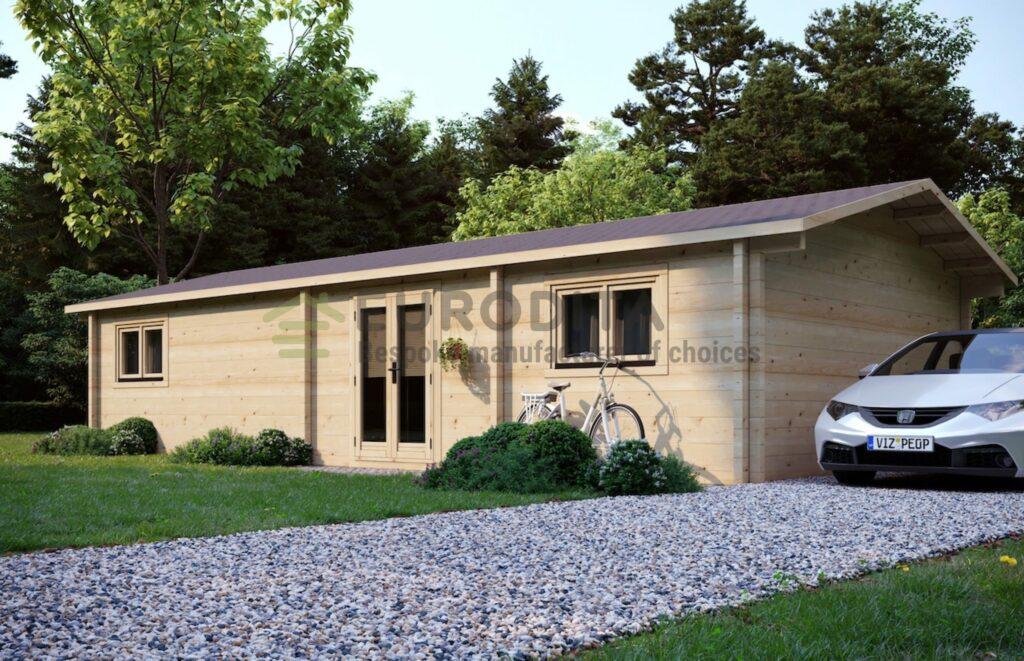 Bespoke Log cabin Sofia
