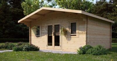 Log Cabin Newbury 5×3.8m, 34mm