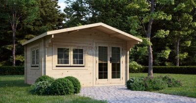 """Log Cabin Bromley"" 4x3 m, 44 mm"