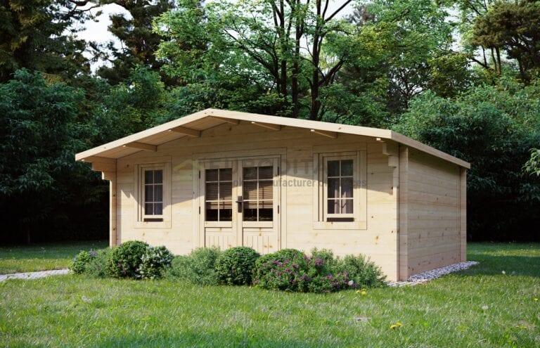 "Rąstinis namelis ""Croydon"" 5x3,8 m, 28 mm"