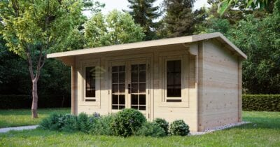 """Log Cabin Colliford"" 4x3 m, 28 mm"