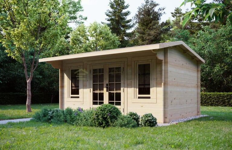 Blockhaus Colliford 4x3m, 28mm