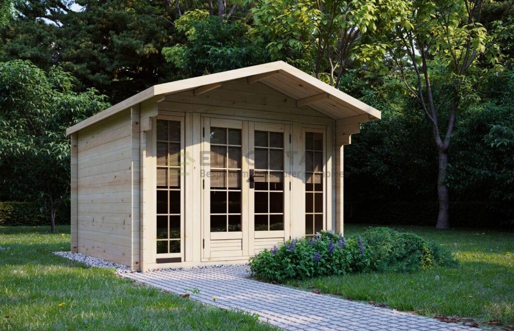 Log Cabin Romford 3x3m, 28mm