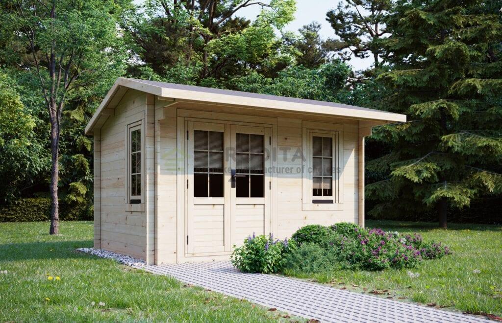 Log Cabin Sutton 3.5×2.5m, 28mm