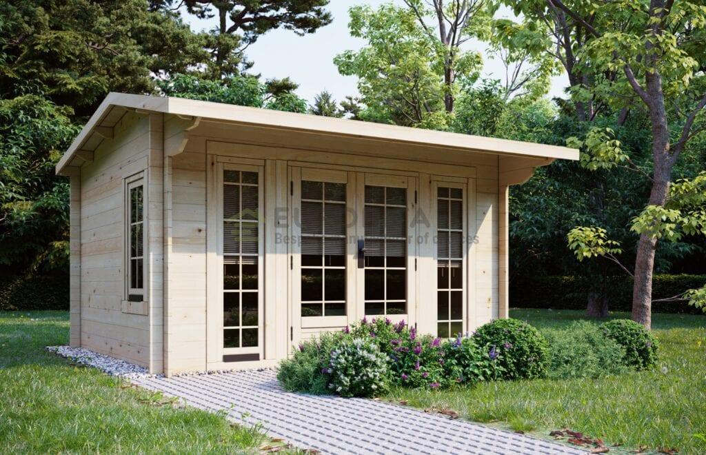 Log Cabin Wimbledon 3.5x3m, 28mm