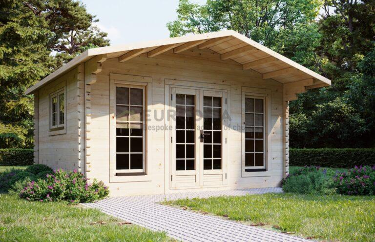 Rąstinis namelis Sunray 4,7x3,8 m, 70 mm