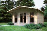 Log Cabin Sunray made by Eurodita