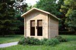 Casetta di legno di Eurodita Newenden