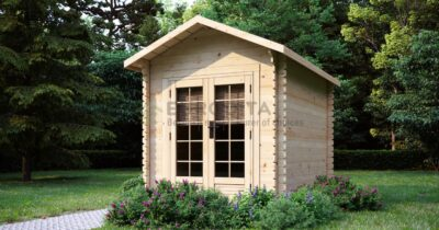 Log Cabin Newenden 2.2x3m, 28mm