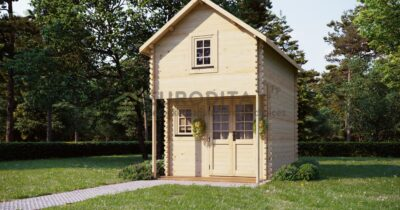 Log Cabin Bunkie 2.9×3.8m, 44mm