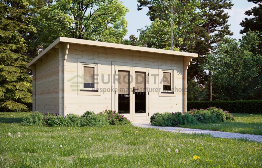 Log Cabin Bristol 4.7×3.5m, 44mm