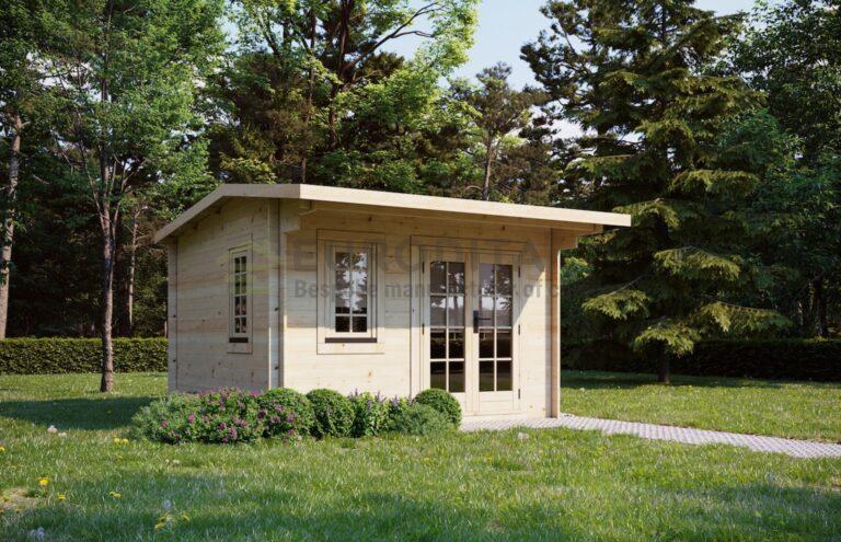 Eurodita log cabin Folkestone 3.5x3.5m, 28mm